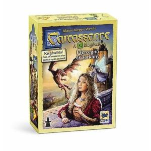 Carcassonne: A Hercegnő és a sárkány (3. kiegészítő)