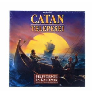 Catan Felfedezők és Kalózok társasjáték