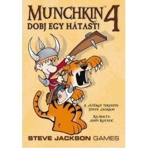 Munchkin 4 Dobj egy hátast! társasjáték