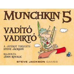 Munchkin 5  Vadító vadirtók társasjáték