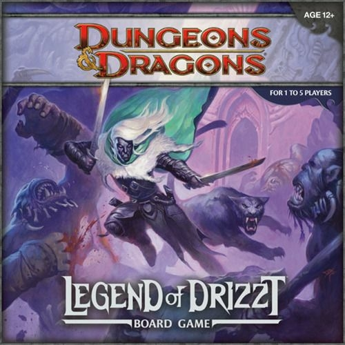 Dungeons & Dragons: The Legend of Drizzt társasjáték
