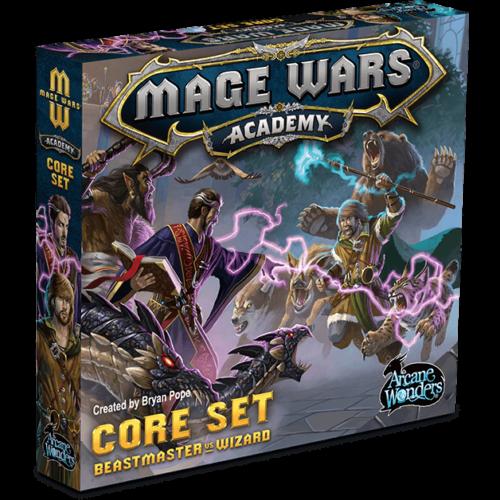 Mage Wars Academy társasjáték