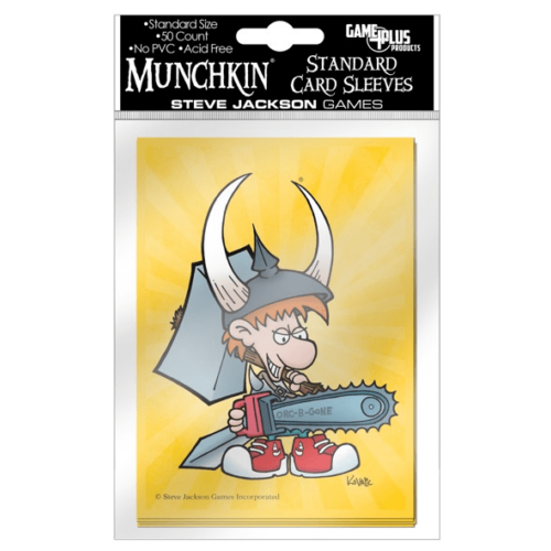 Munchkin kártyavédő férfi figurával