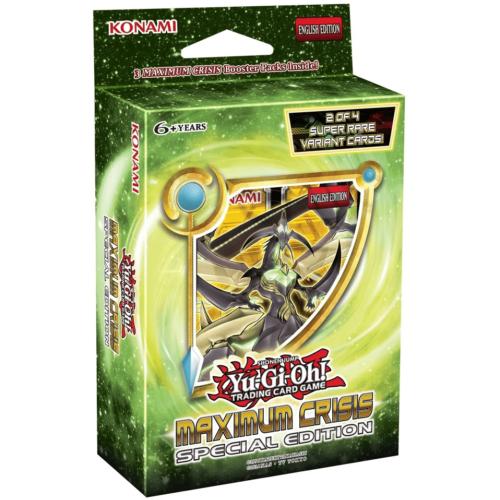 Yu-Gi-Oh! Maximum Crisis: Special Edition különleges csomag