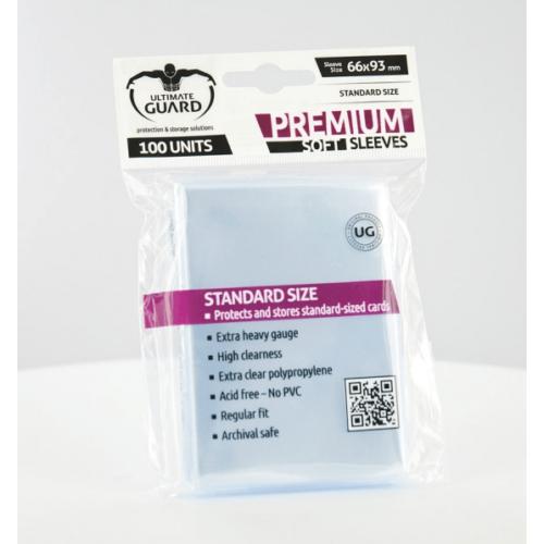 Ultimate Guard Standard kártyavédő fólia átlátszó
